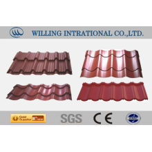 canton fair hot sale stone coated steel roofing tile