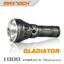 Maxtoch gladiador lanterna de LED recarregável polícia