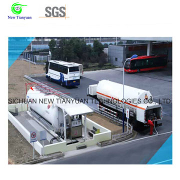 LNG Mobile-Skid Tankstelle mit Whole Corollary Equipment, One-Stop-Lösung Service, Defferent Volume