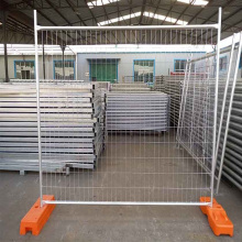 heiß verzinkter tragbarer temporärer Zaun
