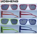 Nuevo diseño modificado para requisitos particulares Gafas de sol modernas del vidrio de la manera