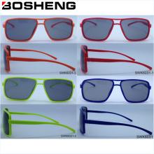 Einfache Titanium Optische Rahmen Polarisierte Günstige Sonnenbrille Brille