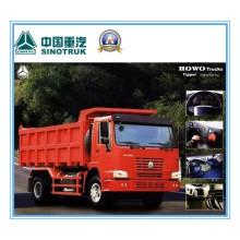 266HP Sinotruk HOWO 4 X 2 Tipper Truck