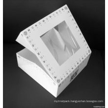 Paper Jewellry Box with Window for Packing