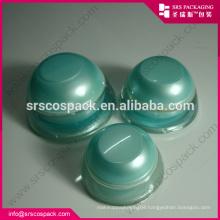 China Cone Shape Cream Jar Plastic Acrylic 5ml 15ml 30ml 50ml Filp Top Bottle