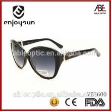 CE & FDA 2015 nuevas gafas de sol al por mayor de la manera de la señora del estilo con la muestra libre