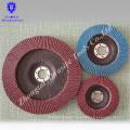 Abrasivo del disco de la aleta de 100 * 16m m 115 * 22m m, rueda abultada de la aleta
