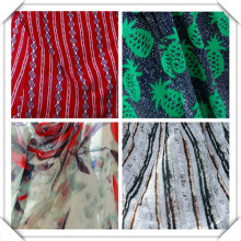 Fashion 100% Printed Rayon Woven Fabric