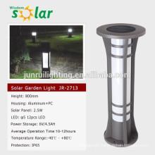 Warm light CE solar led lawn light for garden lighting JR-2713