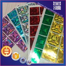 Pet 3d hologram sticker high quality labels