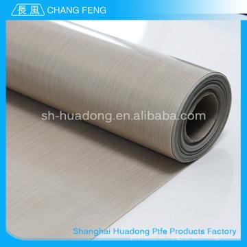 Завод Продажа различных широко используется тепло устойчивостью коричневый цвет PTFE ткани