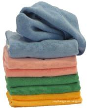 Toalla de microfibra para lavado de coches / turbante para el cabello / mano / cara / deporte / gimnasio / baño / playa con toalla de microfibra