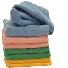 Полотенце из микрофибры для мытья автомобиля / волос тюрбан / руки / лицо / спорт / тренажерный зал / баня / пляж с микро полотенце волокна