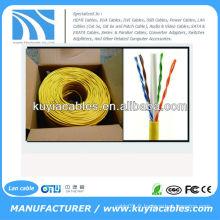 CAT6 Solid UTP Ethernet bulk Network Cable 1000 Ft box