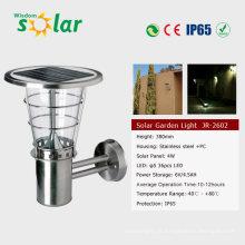 Lampes de mur solaire LED intégré, capteur intelligent solaire conduit appliques (JR-2602B)
