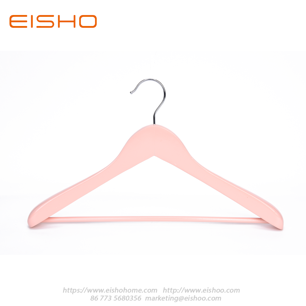 13 Wooden Coat Hanger Pink