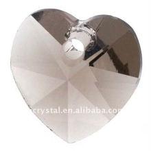 Кристально-сердечные бусины 10мм