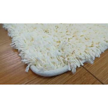 Machine washing tufting polyester carpet