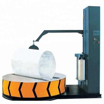 Máquina de envolvimento de estiramento de bobina de tecido
