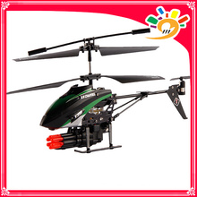 wl V398 remote control 3.5 channel missile shooting rc helicopter
