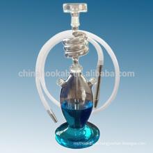 Neue Produkte Klarglas-Shisha Shisha / Nargile / Wasserpfeife / hubbly sprudelnd mit guter Qualität und LED-Licht