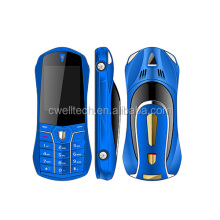 1.77 Inch Dual Sim Card Colorful Car Shaped Worlds Smallest Mobile Phone