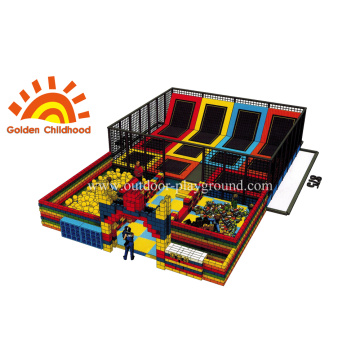 Indoor Commercial Gymnastic Rechteckiges Trampolin
