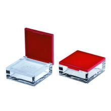 Rotation des tamis à poudre libre poudre boîtier conteneur luxe emballage cosmétique