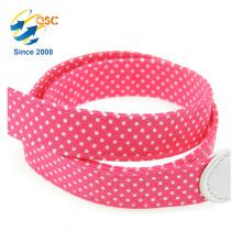 Fabricant Nouveau Style Mode Rose Rouge Wavelet Point Doux Coton Corde Caméra Bretelles