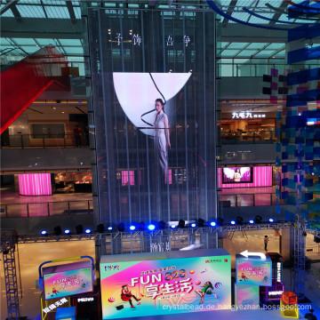 Vorhangfassade LED-Beschilderung