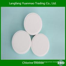 Tablette de dioxyde de chlore avec échantillons gratuits