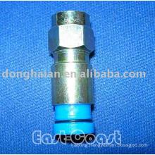 F connector compression RG6