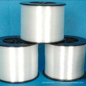 Fil de monofilament de fil blanc cru de DTY