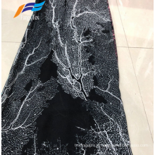 Tecido barato africano impresso 100% poliéster chiffon Abaya