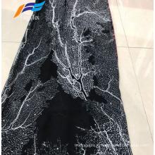 Африканская дешевая ткань Abaya с принтом из 100% полиэстера и шифона