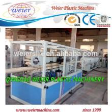 Fabricação de material reciclado de PVC tubo de fornecimento de máquinas