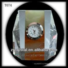 Замечательный K9 Кристалл Часы T074