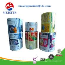 Food Grade CPP Metallic Laminate Popcorn Packaging Roll Film