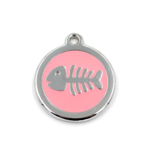 Изготовленный на заказ круглый шарм конструкции для ожерелья или Keychain
