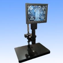 Microscopio de video monocular con pantalla LED Mzw0745-LED