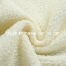 100% Polyester Sherpa Fleece Stoff für Winter Mantel Futter