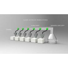 Máquina de alimentación automática para gránulos y extrusores de plástico