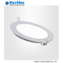 15W 180mm Recessed Round LED Panel Light