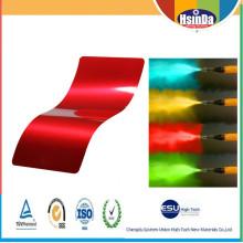 Revêtement en poudre époxy métallique multicolore électrostatique à l'intérieur de meubles Spray électrostatique