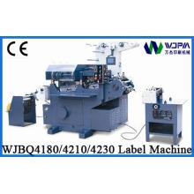 Wjbq4180 CNC máquina de impressão de rótulo do leito