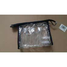 5PCS Pet Plastic Screw Cap Lotion Jar Kit de garrafas de viagem