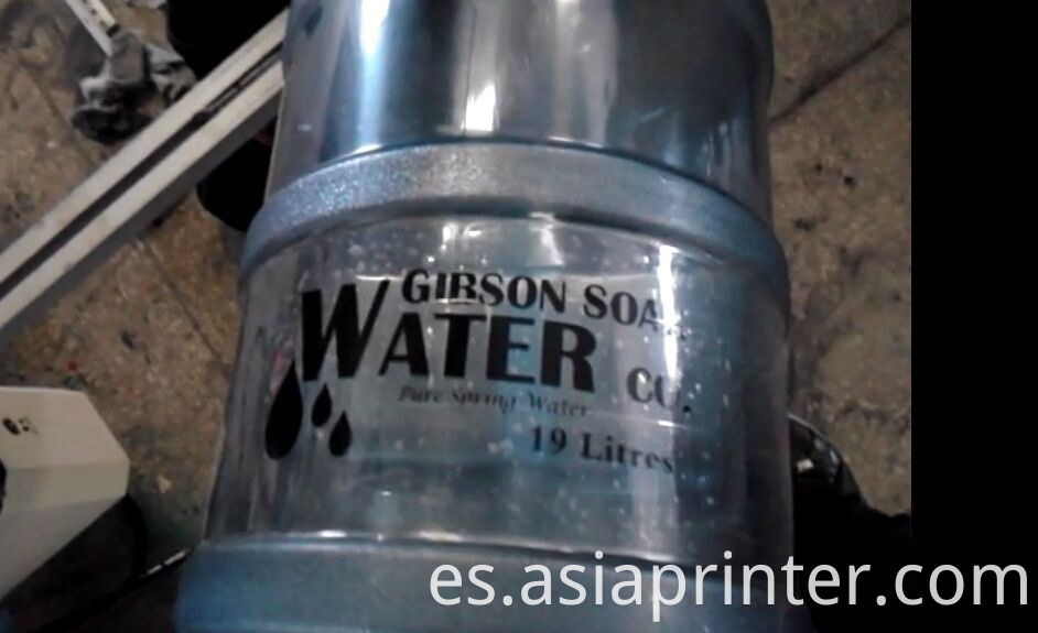 5 Gallons Mineral Water Bucket Screen Printer