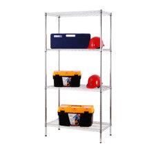 NSF Chrome Metal Metro/Garage Wire Shelving Rack 500lbs Per Shelf