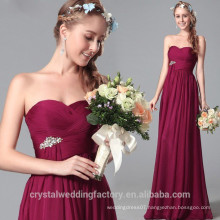 New Design Elegant Cheap Cap Sleeve Patterns Beach Bridesmaid or Evening Dresses Long LB41