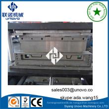 Unovo Lieferwagen Wagenplatte Kaltwalzformmaschine mit Rollenschweißgerät